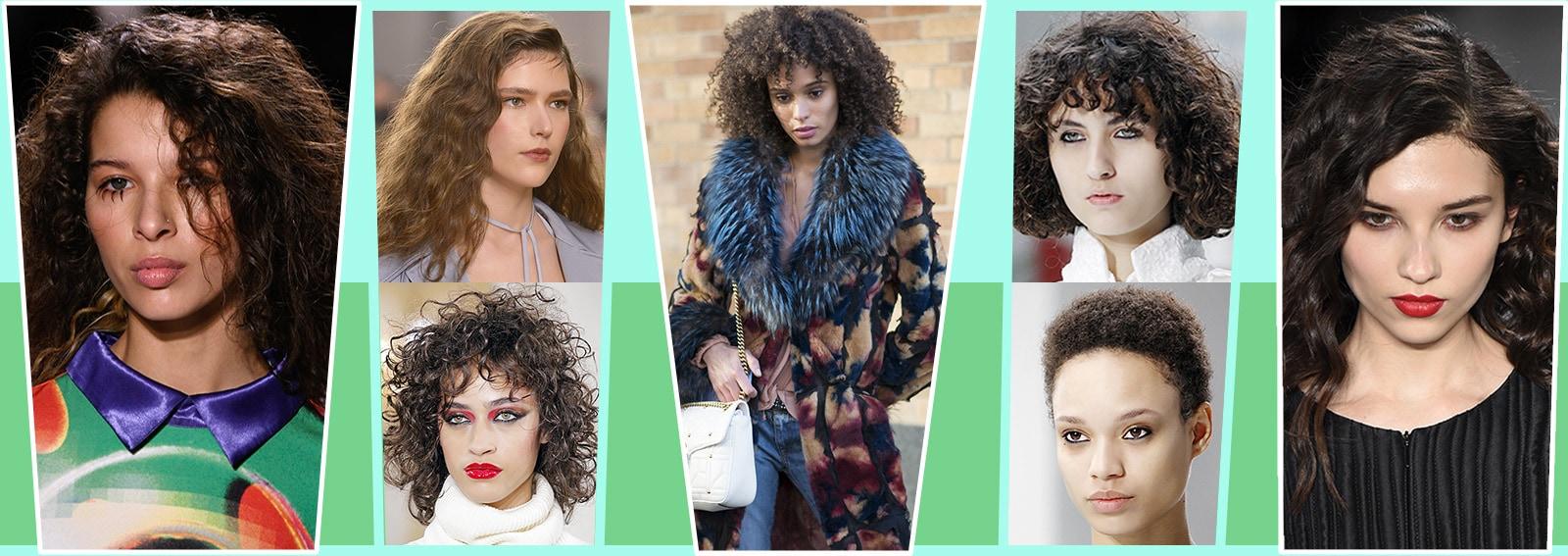Tagli capelli ricci: le tendenze Autunno Inverno 2017 2018