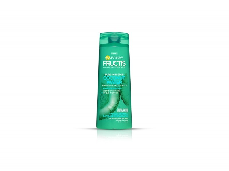 cosmetici-al-cocco-garnier-fructis-shampoo-coconut-water