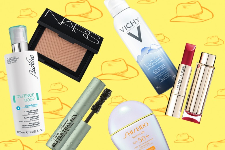 Beauty case per il week end al mare: 10 prodotti must have