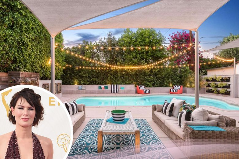 "La casa di ""Cersei Lannister"" Lena Headey a Los Angeles"