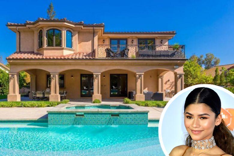 La casa di Zendaya a Los Angeles