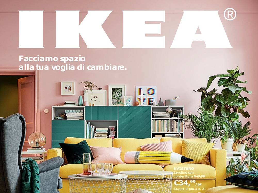 Catalogo ikea 2018 le prime immagini in anteprima grazia for Catalogo ikea nuovo