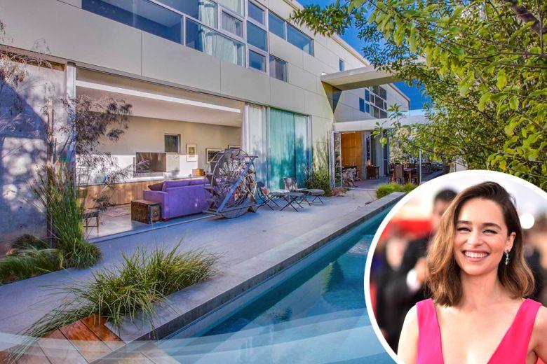 La casa di Emilia Clarke a Los Angeles
