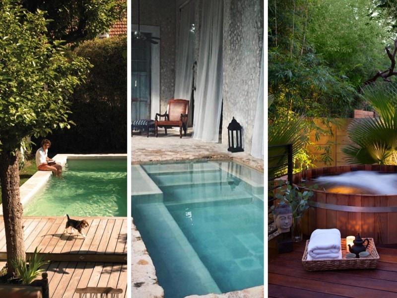 10 piscine piccole perfette per ogni giardino grazia for Piscine per giardino