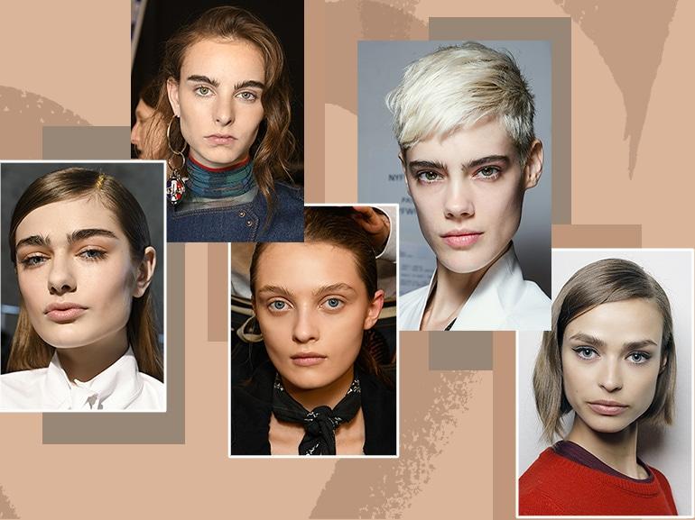 feathery brows sopracciglia pettinate verso l'alto tendenza autunno inverno 2017 2018 collage_mobile