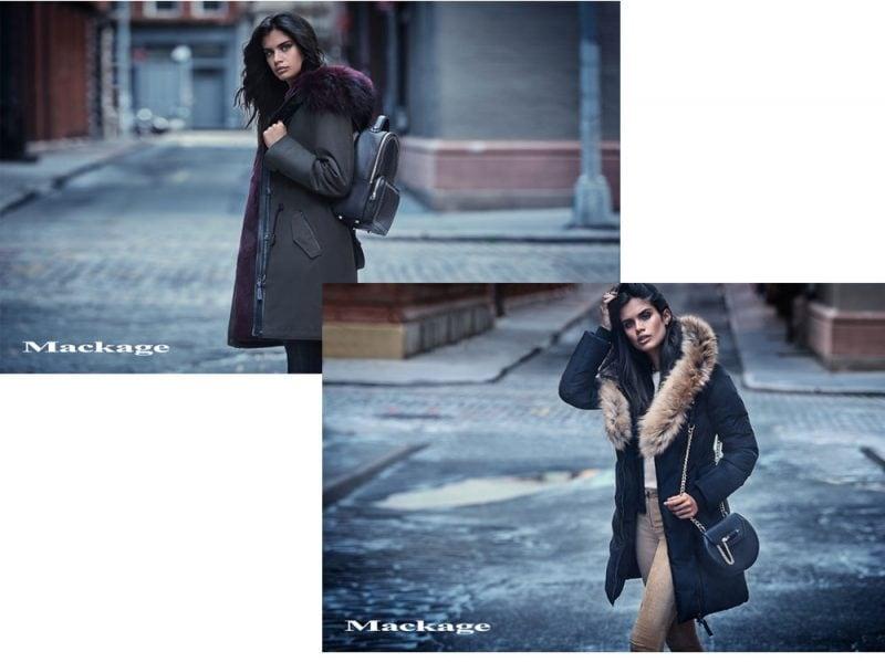 81d5807385fdcc La super modella portoghese Sara Sampaio è la protagonista femminile degli  scatti della campagna Fall Winter 2017 del brand Mackage.