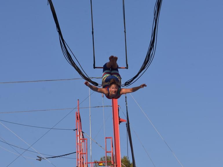 opio circo trapezio