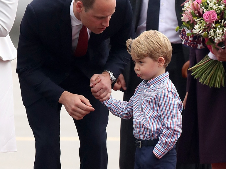 Quanti capricci Principe George! Prendi esempio da Charlotte