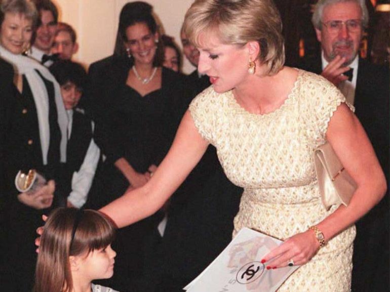 principessa diana bambina