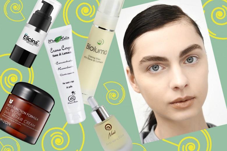 Bava di lumaca: prodotti viso e corpo che rigenerano e riparano la pelle