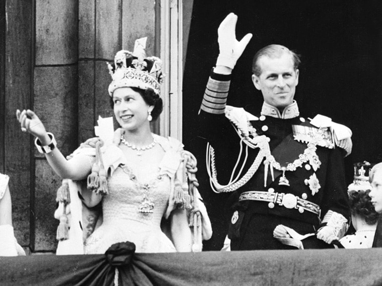 regina elisabetta incoronazione