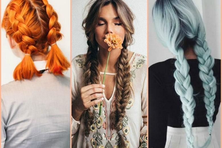 Trecce pigtail braids: i capelli raccolti più cool del momento