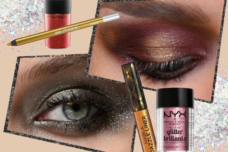 Trucco occhi glitter: la tendenza make up più preziosa del momento