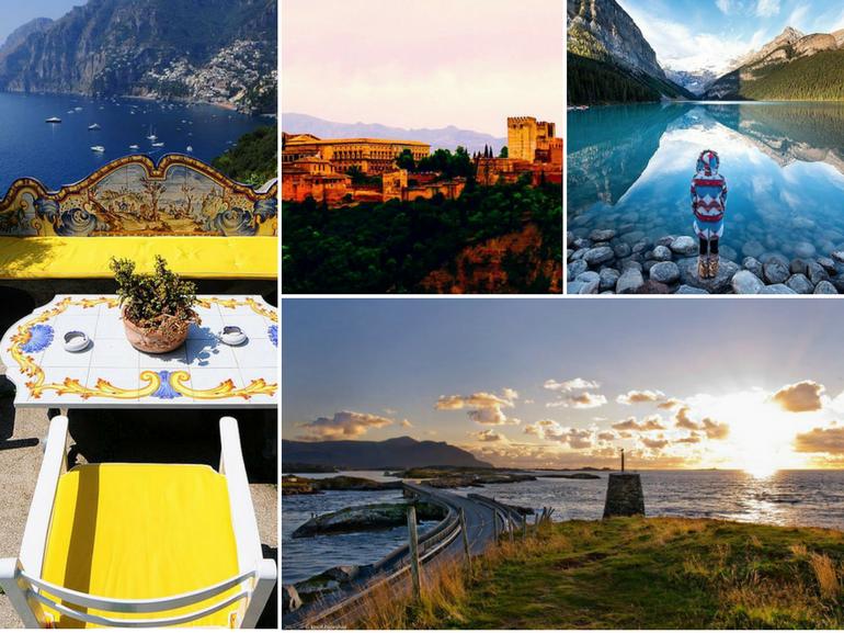 viaggi on the road in macchina per il mondo itinerari spettacolari MOBILE