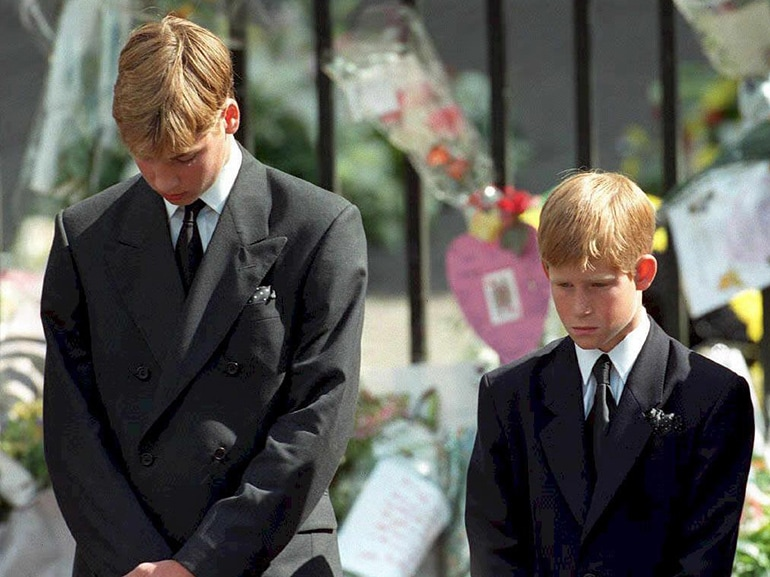 william harry funerale