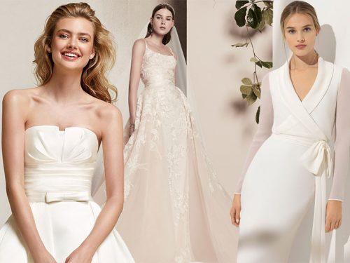 Abiti Da Sposa 2018 Semplici.Abiti Da Sposa 2018 Le Tendenze Dalle Collezioni Bridal