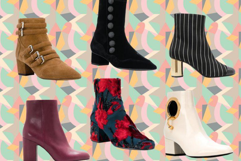 Ankle boots: gli stivaletti must have dell'autunno 2017