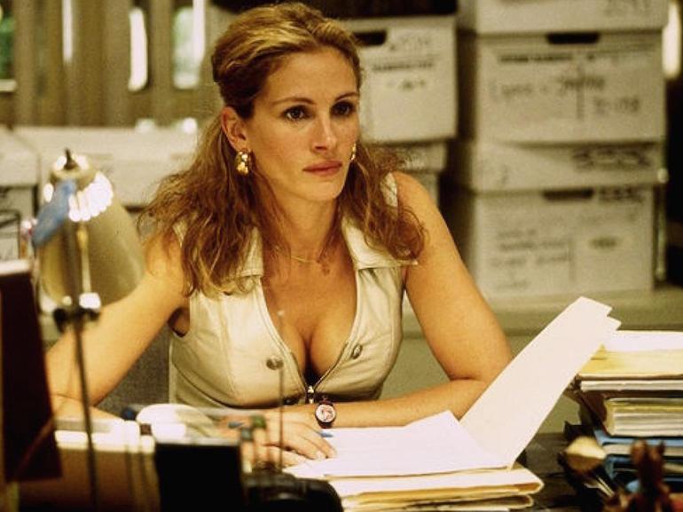 Julia Roberts scrivania
