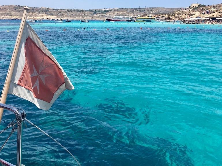 Malta gita in barca