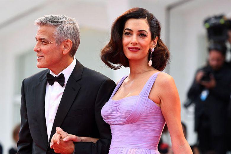 George Clooney lancia un concorso di beneficenza: chi vince va a cena con lui e Amal