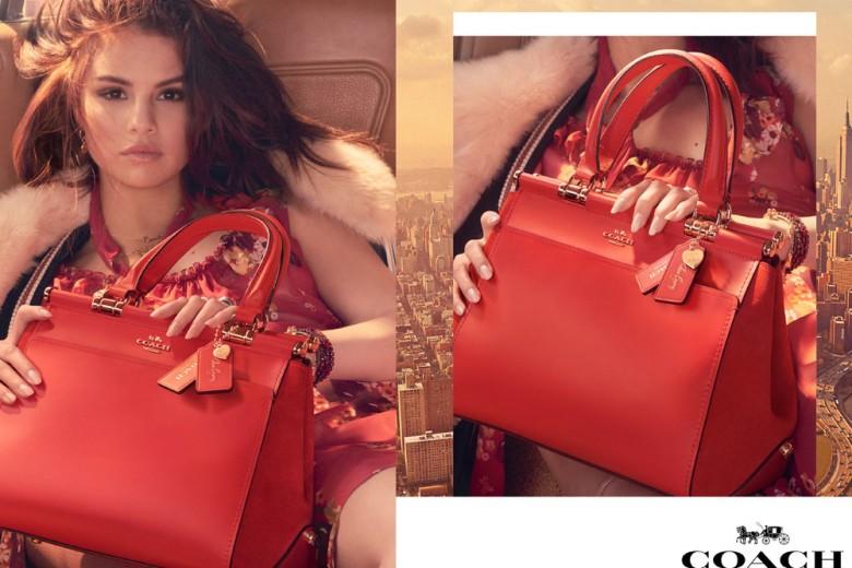 Coach x Selena Gomez: una capsule di accessori firmata dalla cantante