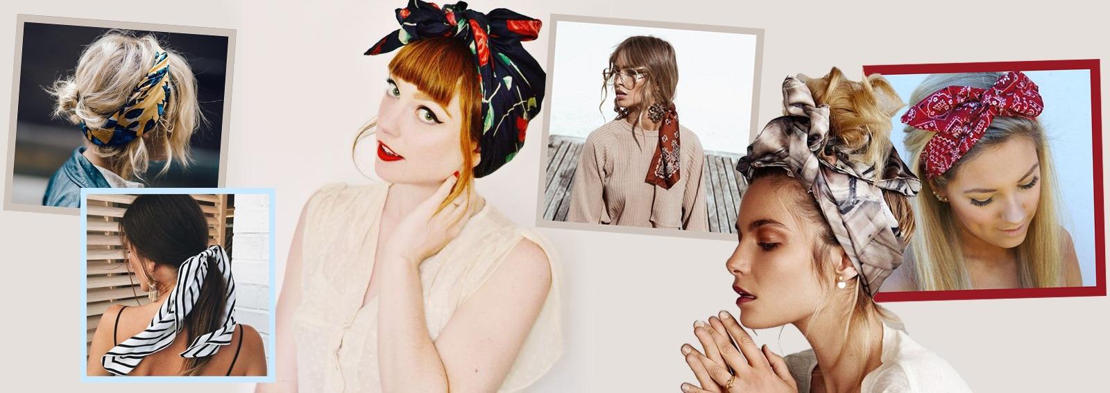 acconciature con foulard cover desktop