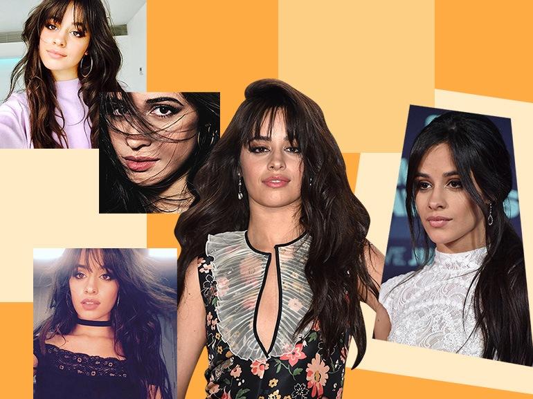 camila cabello capelli make up beauty look collage_mobile
