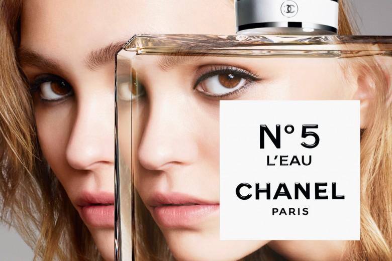 Chanel N. 5 l'EAU: video e foto dal backstage con Lily-Rose Depp