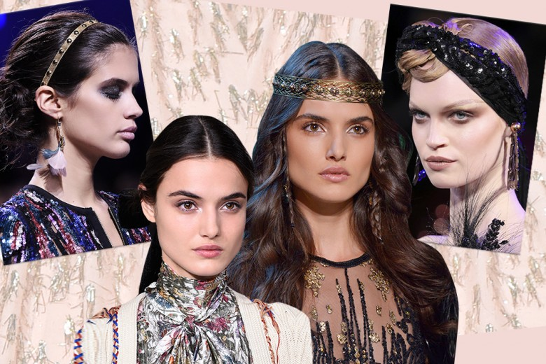 Accessori capelli per l'inverno: cerchietti, fasce, fiocchi e decorazioni