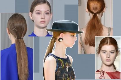 Coda bassa: la tendenza capelli raccolti da provare ora