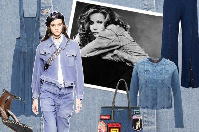 Non solo jeans: tutto il denim d'autunno