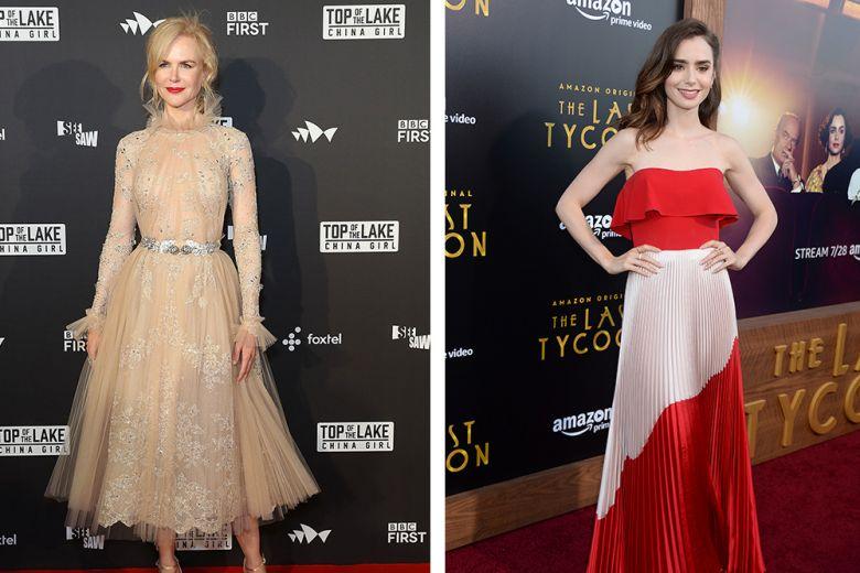 Da Lily Collins a Nicole Kidman, le Best Dressed della settimana