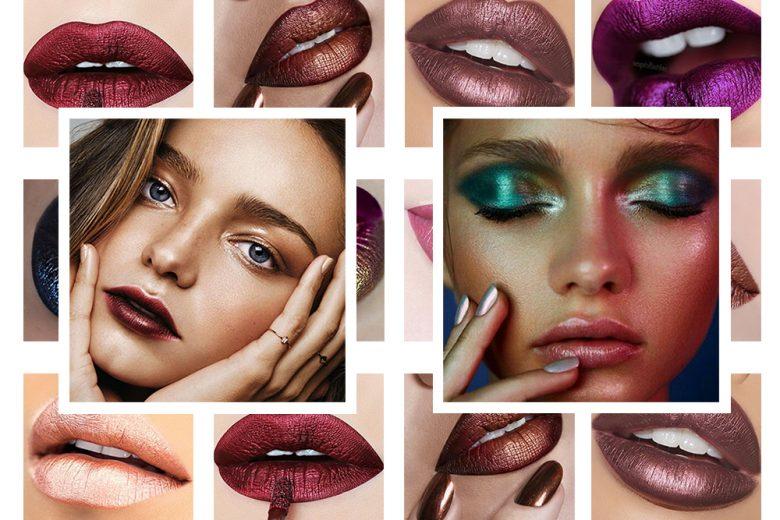 Labbra metallizzate: la tendenza metal lips da provare