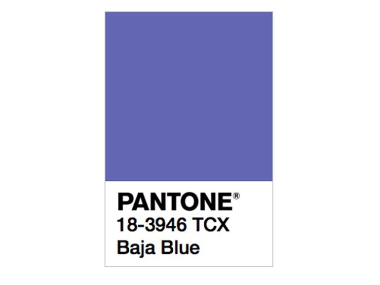 pantone baja blue
