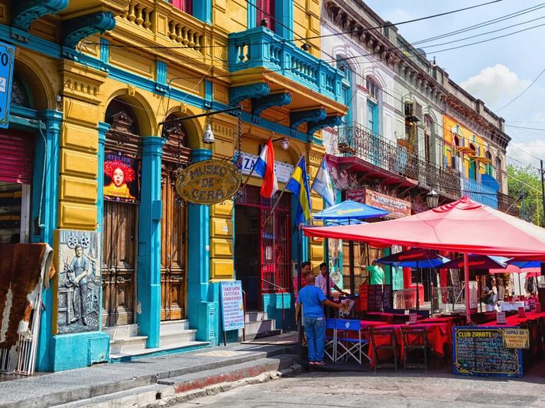 quartiere de La Boca Buenos Aires