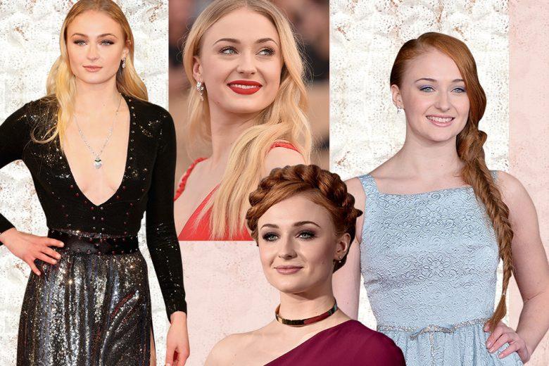Sophie Turner: i beauty look più belli di Sansa Stark
