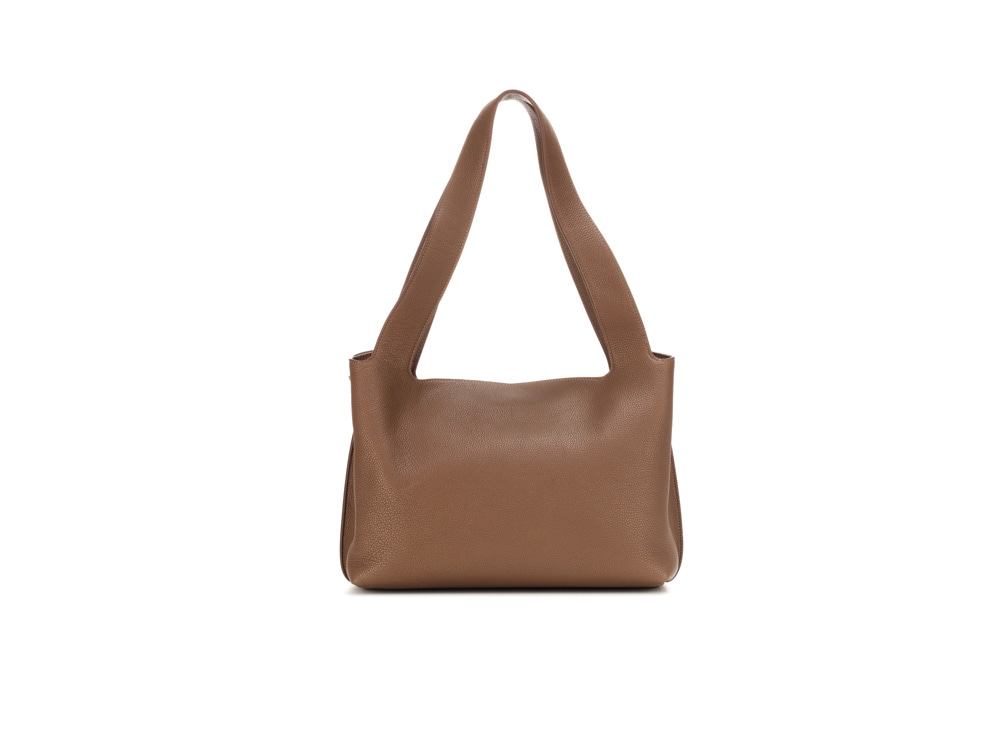 the-row-borsa-marrone-pelle-manico-lungo