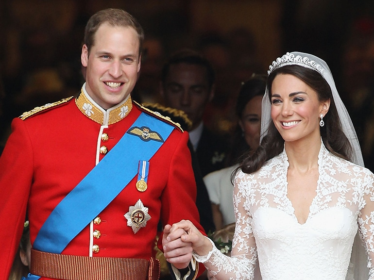 william kate matrimonio