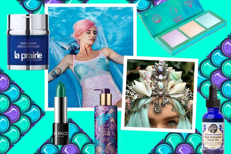 22 prodotti per sentirsi sirene: skin care e make up marino
