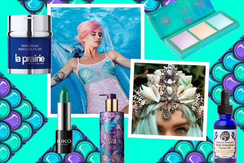 22 prodotti per sentirsi sirene: skin care e make up marino