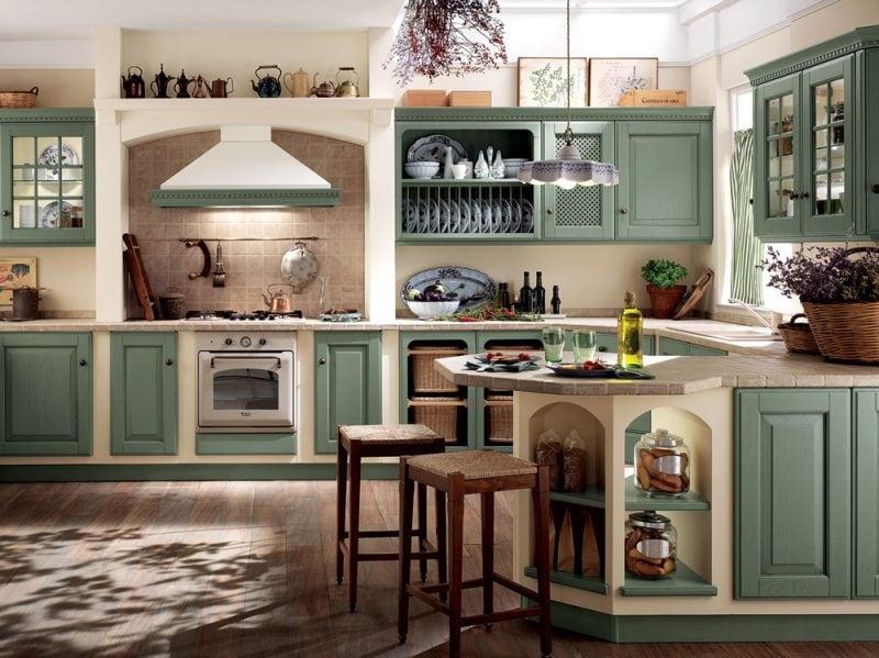 Cucine in muratura classiche rustiche e country grazia - Cucine in muratura lube ...