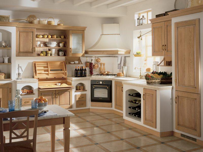 Cucine in muratura classiche rustiche e country grazia - Cucine scavolini country ...