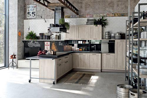 Preferenza Stile industriale: le cucine più belle - Grazia AK31