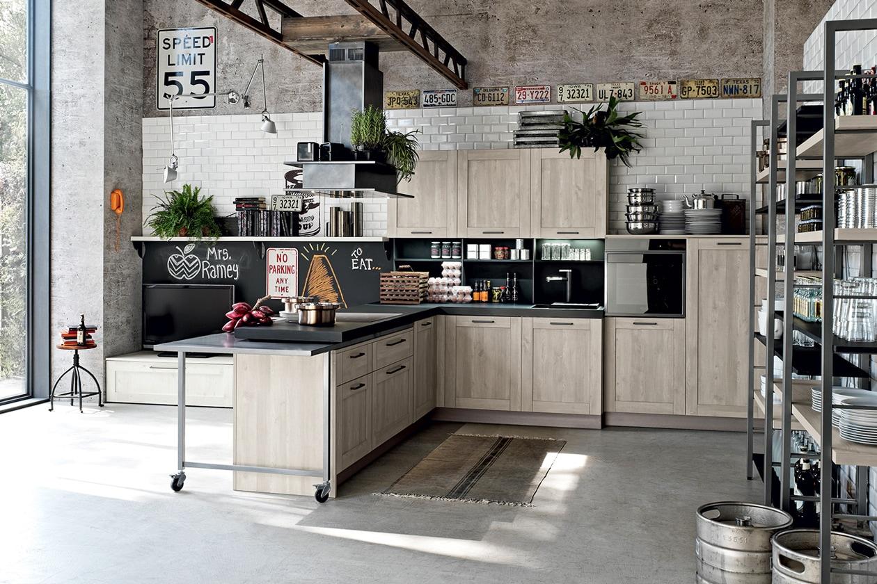 Stile Industriale Le Cucine Piu Belle Grazia