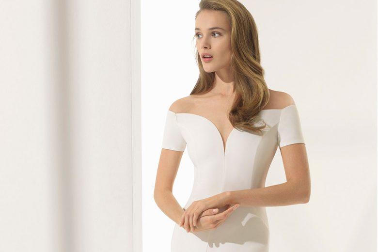 Gli abiti da sposa della collezione Rosa Clará Couture 2018