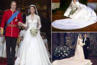 Da Grace a Kate, gli abiti da sposa delle principesse che ci hanno fatto sognare