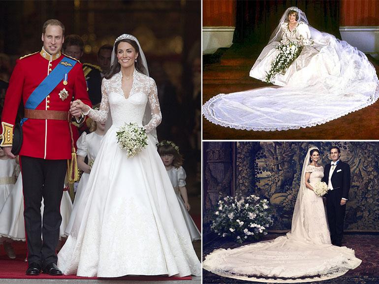 Vestito da sposa di kate middleton