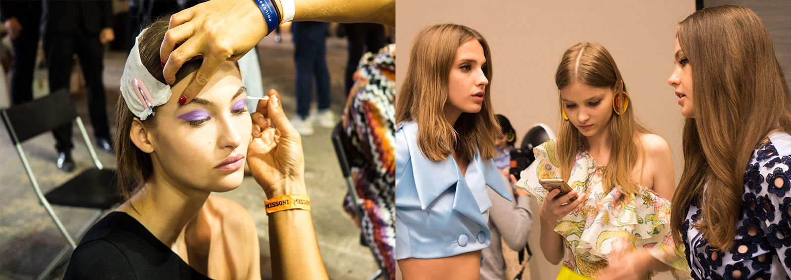 Tendenze trucco, capelli e unghie dalle Fashion Week P/E 2018