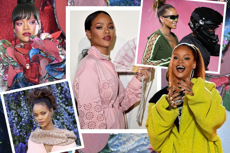 Rihanna beauty look: i trucchi e le acconciature più belle