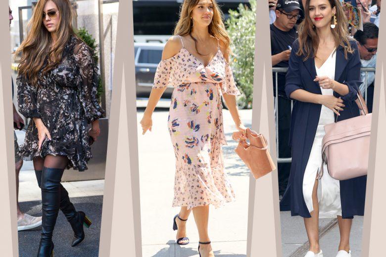 Jessica Alba: stile e look premaman possono andare d'accordo
